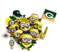 GO PACK GO!!! OMG and I didn't think it would be possible to find Minions more delightful!