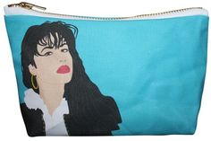 Selena Makeup BagA nice gift for those who miss Selena every damn day.kayciwheatley Selena Quintanilla-Peréz Makeup Bag, $28, available at Etsy.  #refinery29 http://www.refinery29.com/2015/11/97843/pop-culture-gift-ideas#slide-29