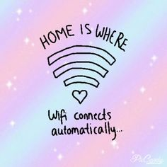 this happens to me when i go to my old school and it makes me very sad because its like the wifi is trying to make me miss it and its just gdfndkfj no