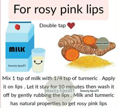 Beauty Tips With Honey, Beauty Tips For Glowing Skin, Health And Beauty Tips, Clear Skin Face, Face Skin Care, Natural Pink Lips, Natural Skin Care, Skin Care Remedies, Herbal Remedies