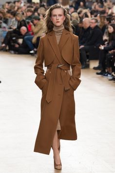 "For fall 2017, the Nina Ricci woman has found herself sweating it out in the Nevada desert as designer Guillaume Henry looked to rodeo country for inspiration. ""I've never been to view Texas,"" he s…"