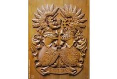Image result for carved crest