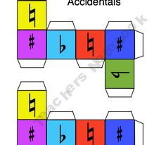 Music Theory Dice.  So many ideas - so little time!!!!!