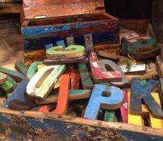 These reclaimed wood letters and numbers are made from retired fishing boats and come in a variety of sizes and colors. Wood Letters, Letters And Numbers, Hawaiian Homes, Reclaimed Furniture, Fishing Boats, Home Accents, Recycling, New Homes, Ranch Life