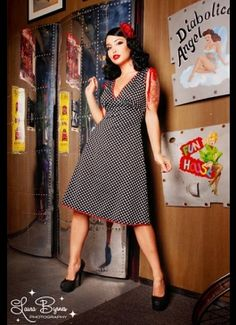 i like pin-up dresses....old fashioned to me