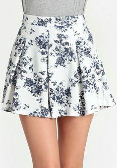 Hyde Park Floral Skirt