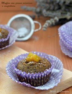 Muffin con grano saraceno e confettura #mieledilavanda #muffin