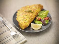 Low Calorie Bacon Omelet