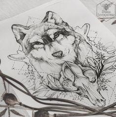 Восхитительные работы [id19817480|Дианы Севериненко]<br><br>#художники@tattoobase