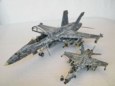The Impossible Camo: F/A-18 in Digital Scheme | Large Scale Planes