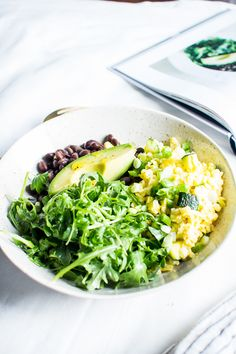 The Sprouted Kitchen's Popeye Protein Bowl