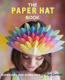 The Paper Hat Craft Book designed by Sowins Design for Quarry Books. A fun, creative project book in making paper hats to accessorize any costume or ensemble.