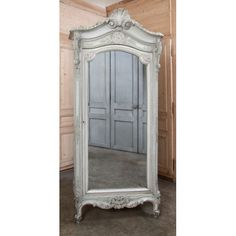 Antique Armoires | Antique French Regence Painted Armoire | Www.inessa.com