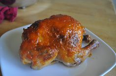 HAYLEE'S FOOD: Emeril Lagasse's Apricot Glazed Cornish Game Hens with Italian Sausage-Rice Pilaf