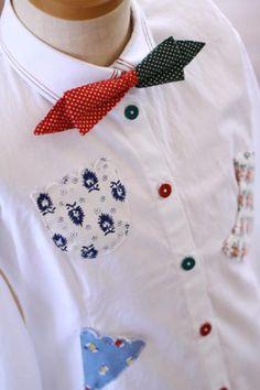 お手軽プチリメイク!シンプルな服もボタンで個性的に♡ - Weboo
