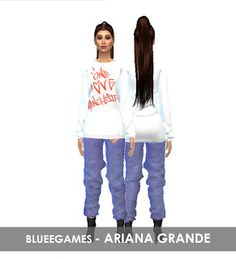 Celebrities | Ariana Grande | One Love Manchester Outfit | CLOTHES - BlueeGames