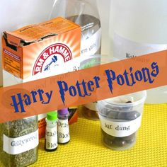 If you have a Harry Potter enthusiast in your house, you'll want to try your own Harry Potter Potions Class and Experiments, either for a birthday party or just for fun.