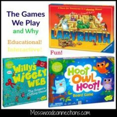 The Games We Play and Why