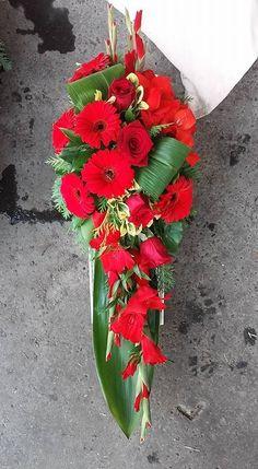C.b.: I. L. - #Cb Church Flowers, Funeral Flowers, Funeral Flower Arrangements, Floral Arrangements, Funeral Sprays, Wedding Car Decorations, Funeral Tributes, Bouquet, Deco Floral