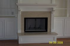 wainscoting fireplace - Google Search