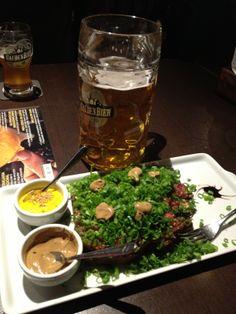 Carne de Onça x Gauden Bier Pilsen  #cerveja #harmonizacao #beer #food #pairing