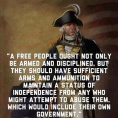 A free people.......