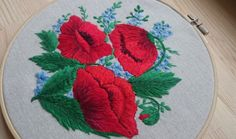 Check out this item in my Etsy shop https://www.etsy.com/ru/listing/503520672/hand-embroidered-flowers-home-decor-with