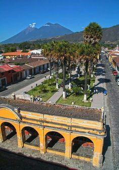 Parque La Unión, Antigua Guatemala
