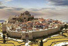 The Greek City of Amphipolis Minecraft Project