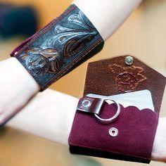 Funky and fabulous handmade wrist wallets