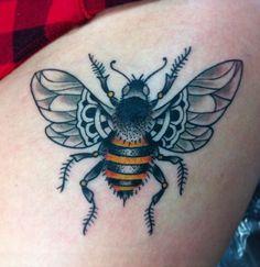 Tattoo idea for behind my ear/neck area.