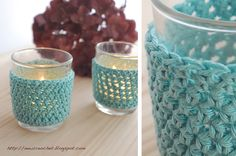 the new crochet: Crochet your own tealight covers