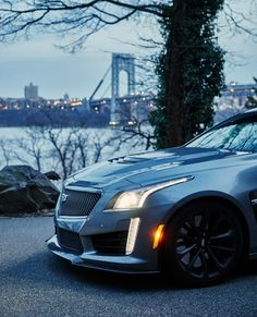 Thanks to a supercharged eight-cylinder heart and an expertly tuned chassis, the last CTS-V earns a place in the pantheon of all-time greats. Cadillac Cts V, Cadillac Escalade, Dmc Delorean, Chrysler 300 Srt8, Dodge Charger Hellcat, Drifting Cars, City Car, Car Travel, Expensive Cars