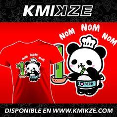 ¡Pero qué hambre tenemooooos! #panda #comida #ilovefood #kmikze