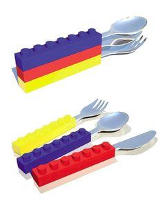 Stackable Lego Cutlery. $14.96.