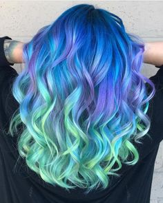"8,758 Likes, 40 Comments - Pulp Riot Hair Color (@pulpriothair) on Instagram: ""@k.s.colors is the artist... Pulp Riot is the paint."""