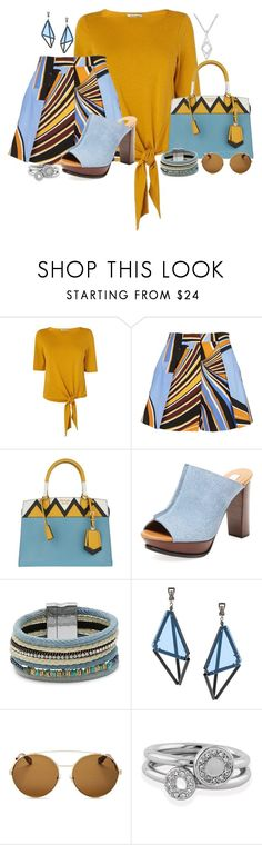 """""""It's All In Your Shapes"""" by freida-adams ❤ liked on Polyvore featuring L.K.Bennett, Emilio Pucci, Prada, See by Chloé, Design Lab, Issey Miyake, Givenchy and Shoreditch"""