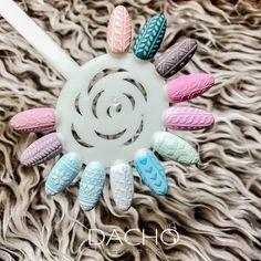 Christmas Nails 2019, Xmas Nails, Holiday Nails, Acrylic Nail Designs, Nail Art Designs, College Nails, Work Nails, Sparkly Nails, Sweater Nails