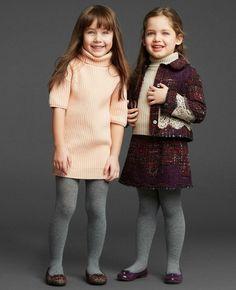 Pullover in Rosa oder in Camel für die kleine Trendsetterin