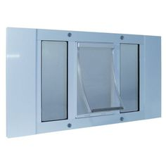 The Ideal Sash Window Small Pet Door is specially designed for sash windows. These Sash Pet Doors provides your pet with easy access in or out of your home without having to install the pet door withi