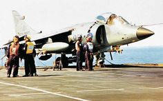 A Brief History of V/STOL Combat Aircraft – Part II: Enter the Harrier and the Soviet Forger - aircraft design Air Force Aircraft, Fighter Aircraft, Fighter Jets, Stol Aircraft, Navy Aircraft, Military Helicopter, Military Aircraft, Hms Ark Royal, British Aerospace