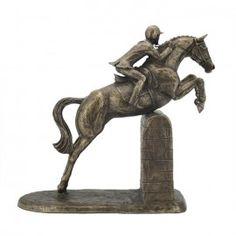 'Male Show Jumper' Bronze designed by Harriet Glen