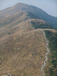 Hiking in Autumn - Pak Sin Leng in New Territories