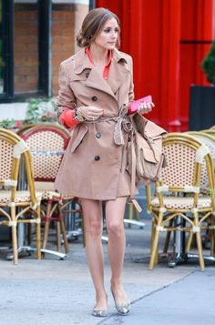 Olivia Palermo - Olivia Palermo Films A Pilot In NYC