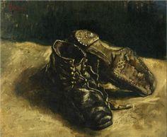A Pair of Shoes  - Vincent van Gogh