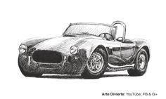 Cómo dibujar un Shelby Cobra - Un carro #arte #dibujo #Artedivierte #tutorial #ShelbyCobra #artistleonardo #LeonardoPereznieto #plumafuente #Patreon  Haz clíck aquí para ver mi libro: http://www.artistleonardo.com/#!ebooks/cwpc