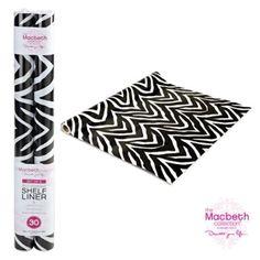 Amazon.com: Self Adhesive Shelf Liner - Black and White Zebra: Home & Kitchen