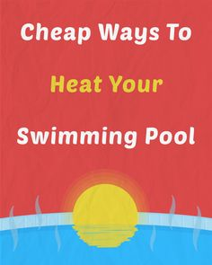 Swimming pool heaters pool heater and wood burning on for Good cheap pools