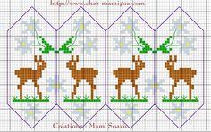 Le Petit Chamois aux Edelweiss dans votre Sapin de Noël