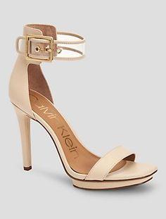 vable vinyl leather sandal